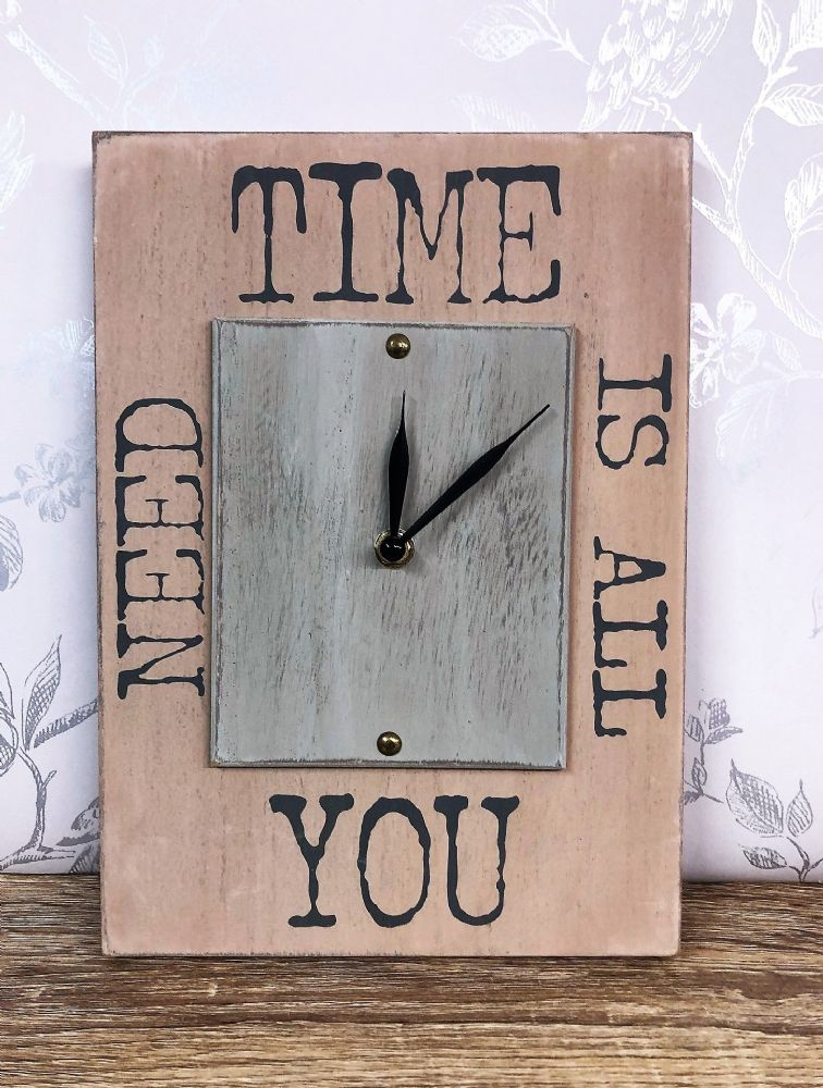 Time Is All You Need Wall Clock